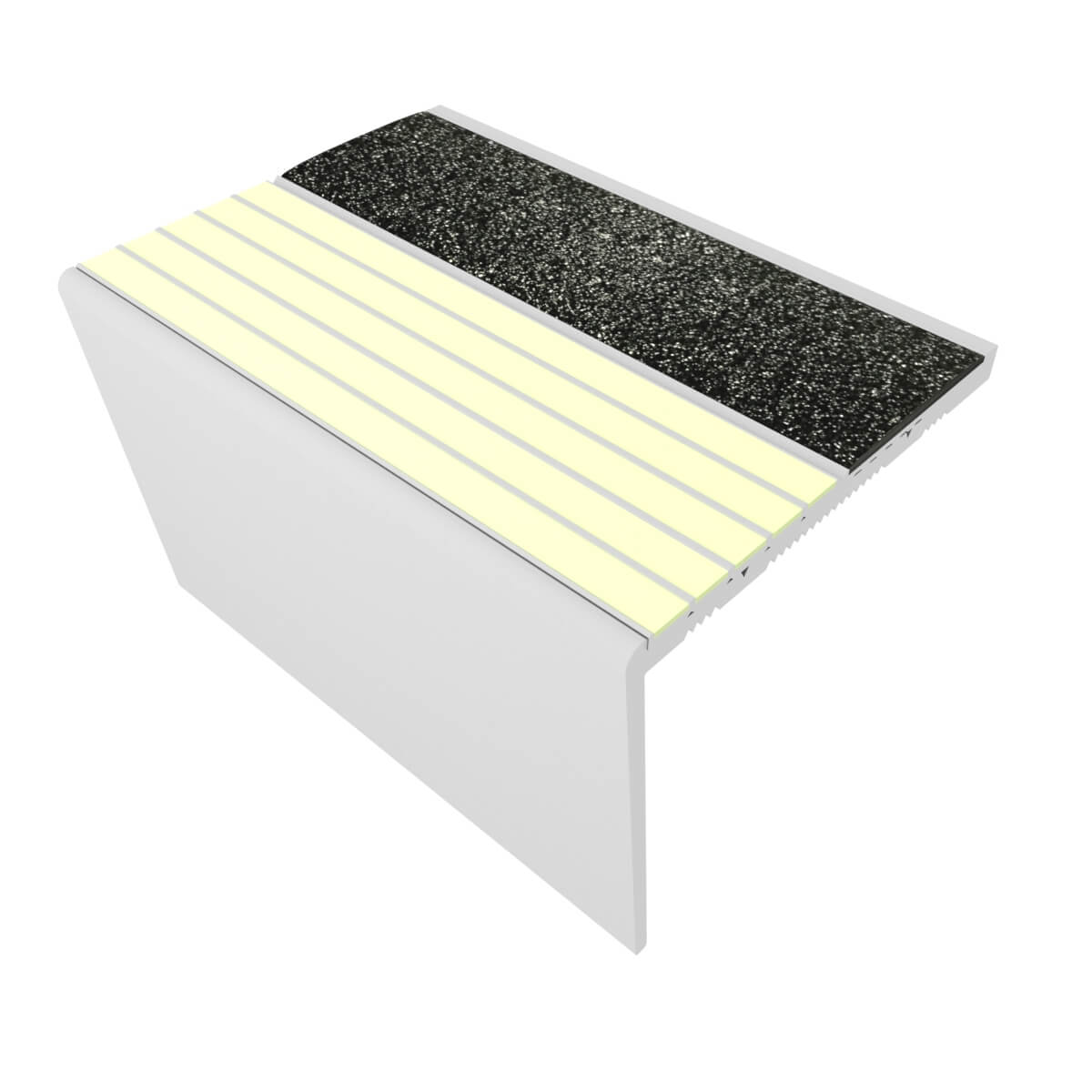 RFA7C171 NON-SLIP RESILIENT FLOORING STAIR NOSINGS