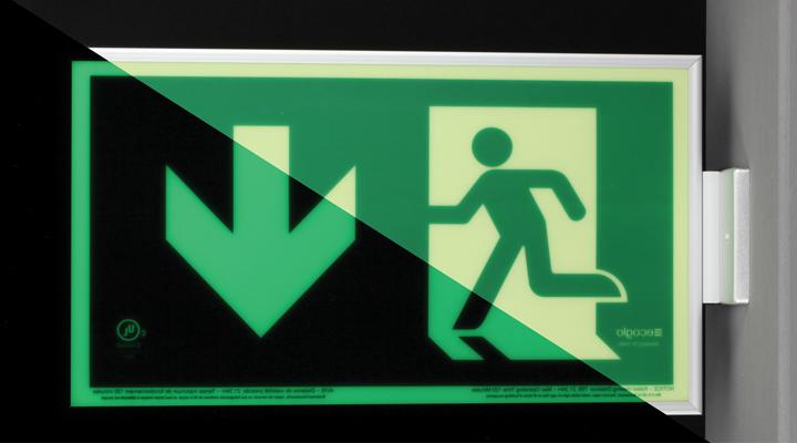 Ecoglo Exit Signs Kinesik