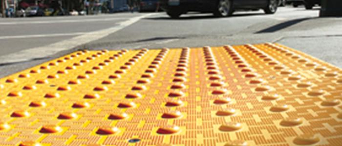 tactile walking surface