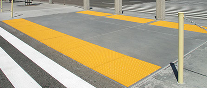 Cast In Place Transit Tiles