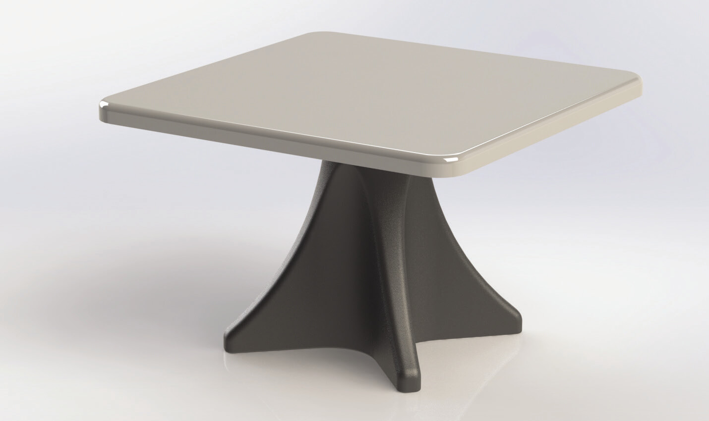 MAX-SECURE® ESTILO DINING TABLE ES 4000-1 (ES 4000-1T AND ES 4000-1B)