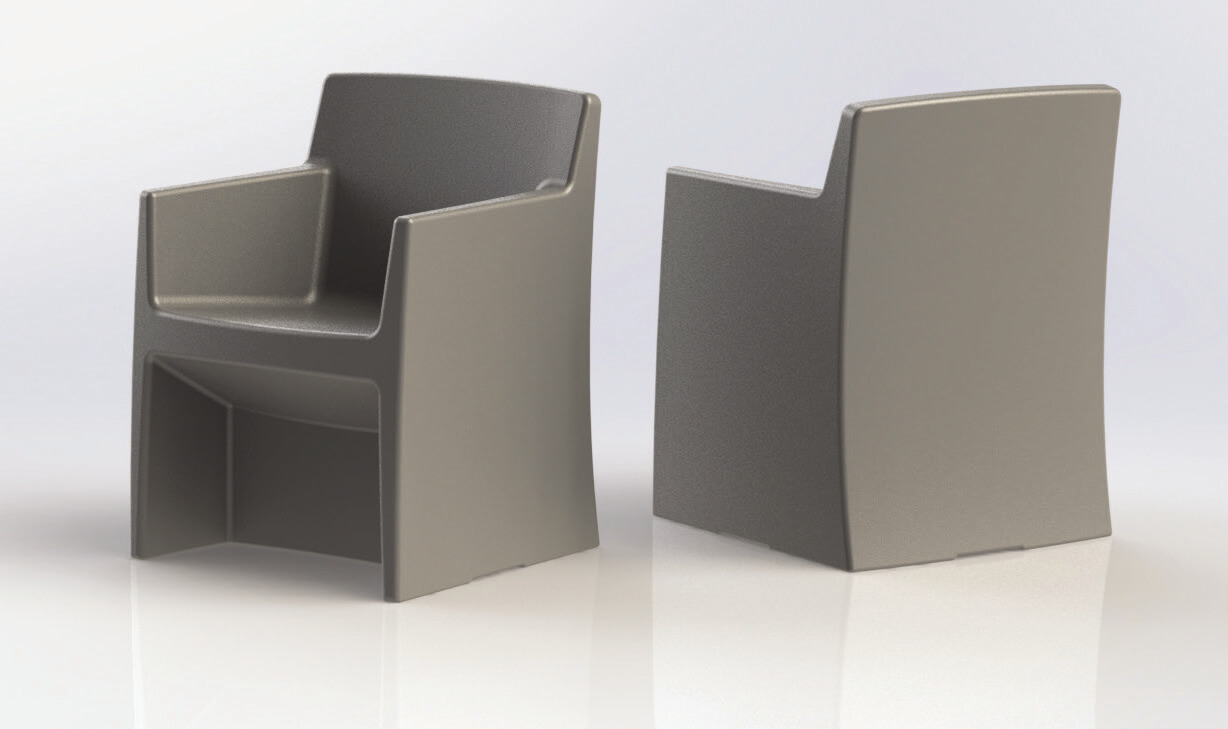 MAX-SECURE Estilo Arm Chair