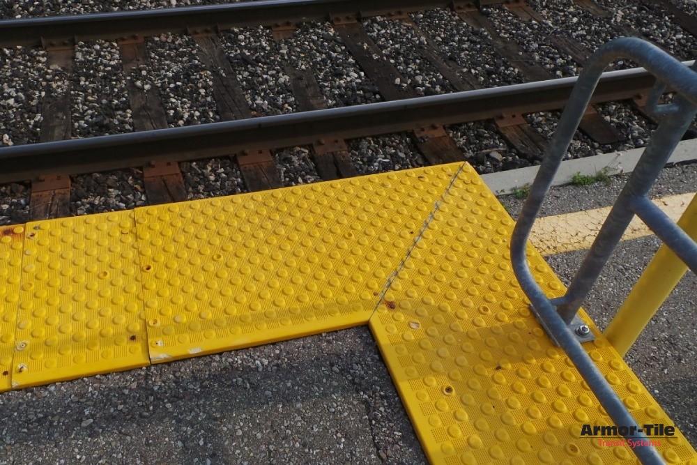Armor-Tile at ADA at Kitchener Go Station