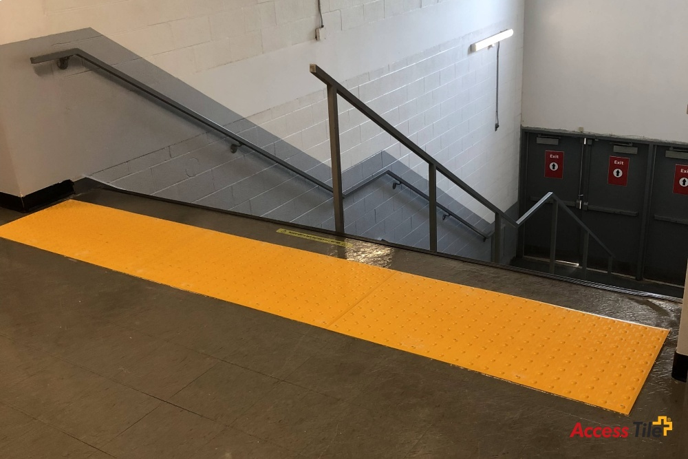 Access Tile Surface Applied installed at Town of Oakville Community Centre