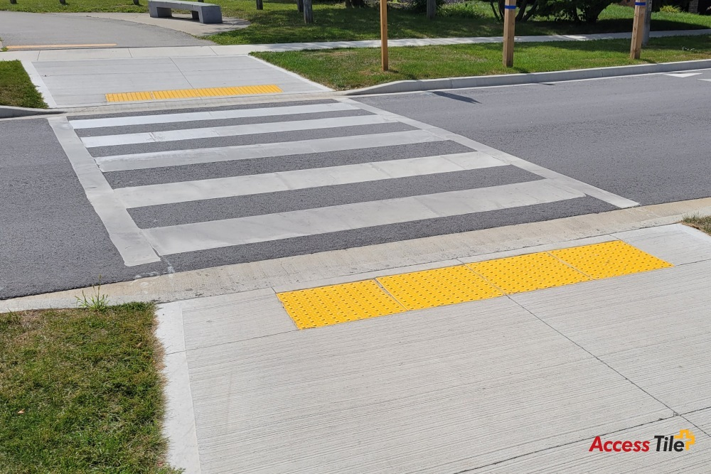 Access Tile cast in place at Belvenia Road, Oakville