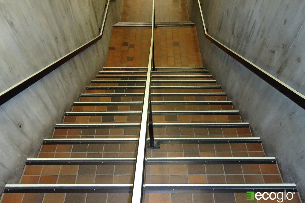 Ecoglo Stair Nosing at Oakville Public Library